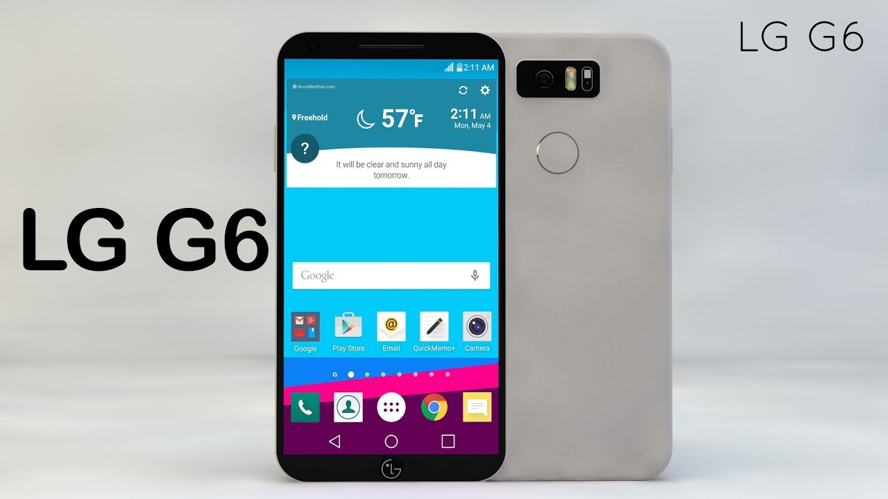 LG G6 Concept 3D Video Rendering with 4K Display & Ultra Fast Wireless  Charging | IT Sketch