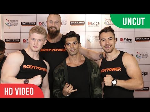 UNCUT  Bodypower Expo 2018  Fitness Event  Karan Singh Grover