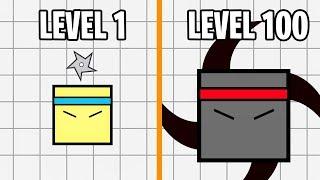 Эволюция Ниндзя! Ninjar.io Новая io Игра