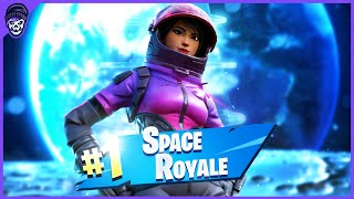 Winning A Game Of Fortnite IN SPACE... (Impossible)