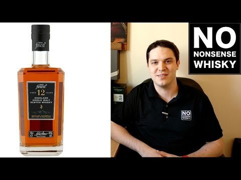 Tesco Finest Highland 12 Year Old - No Nonsense Whisky Reviews #33