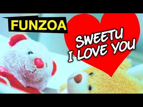 SWEETU I LOVE YOU | Funzoa Funny Love Song | Mimi Teddy Bojo Teddy | Funzoa Teddy Videos