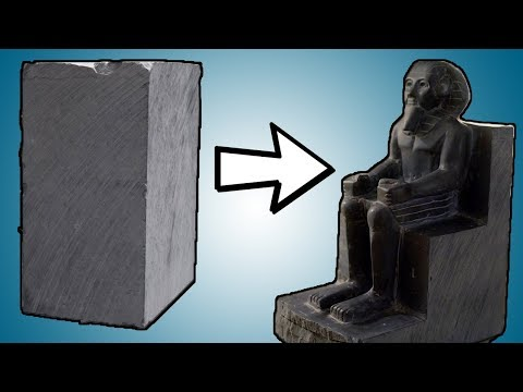 Stone Carving a Pharaoh | Start to Finish