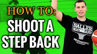 Basketball moves: exactly how to shoot a step back jumper
