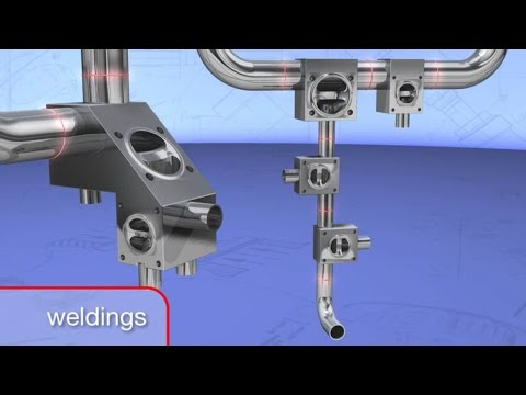 Animation: Multi-port valve system stainless steel GEMÜ P600 P
