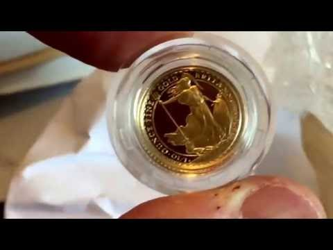Why don't more people collect beautiful gold Britannia coins? A new 1995 1/10th arrives.