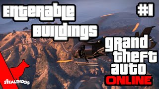 Gta V Online 10+ Enterable Buildings With Commentary!