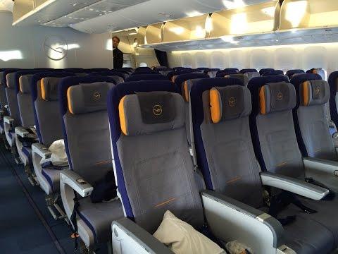 Lufthansa Boeing 747-8i Economy Class Review