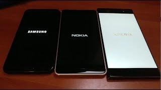 Nokia 6 vs Sony Xperia XA1 Ultra vs Samsung Galaxy J7 Pro - Benchmark Speed Test!