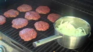 Cowboy Burger Daves Cooking Show