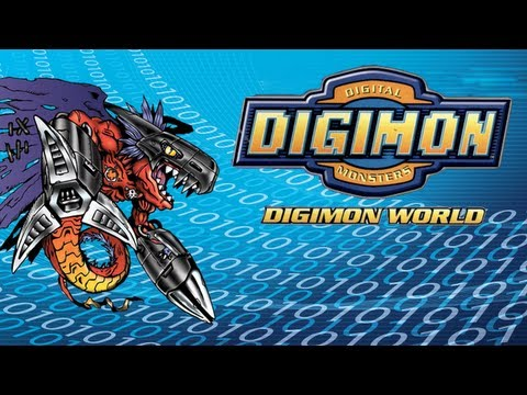 Let's Play Digimon World Pt. 32 - Guardian of the Lake