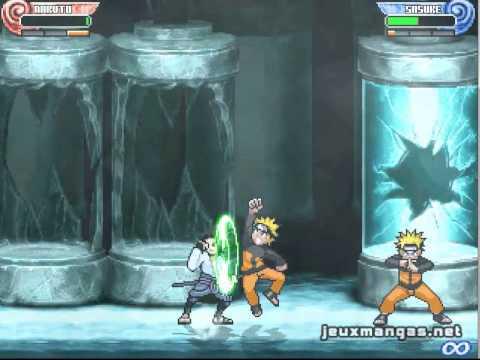 Naruto Shippuden Shinobi Rumble Generations Mugen Gameplay Youtube