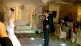 عريس وعروسة مصريين دمهم خفيف