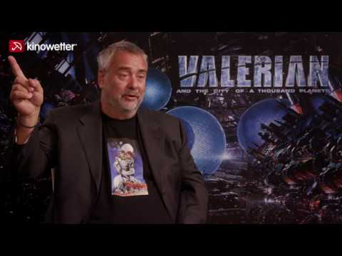 Interview Luc Besson VALERIAN AND THE CITY OF A THOUSAND PLANETS