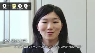 新卒エンジニア密着【電気・電子】2016年入社 沖 愛