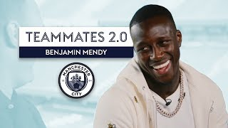 Who is the worst dressed player at Man City? | Benjamin Mendy | Manchester City Teammates 2.0