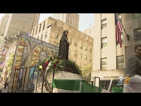 Gov. Andrew Cuomo Announces Plans For Mother Cabrini Statue