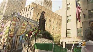 Gov. Andrew Cuomo Announces Plans For Mother Cabrini Statue