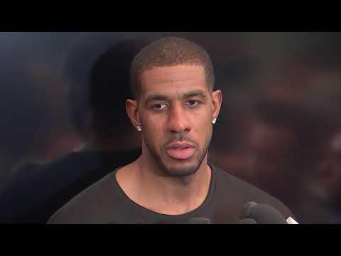 LaMarcus Aldridge Postgame Interview / Spurs vs GS Warriors Game 4