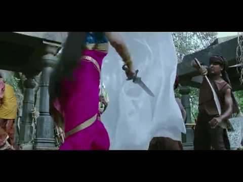 how romantic entry and action... bahubali 2 scene...