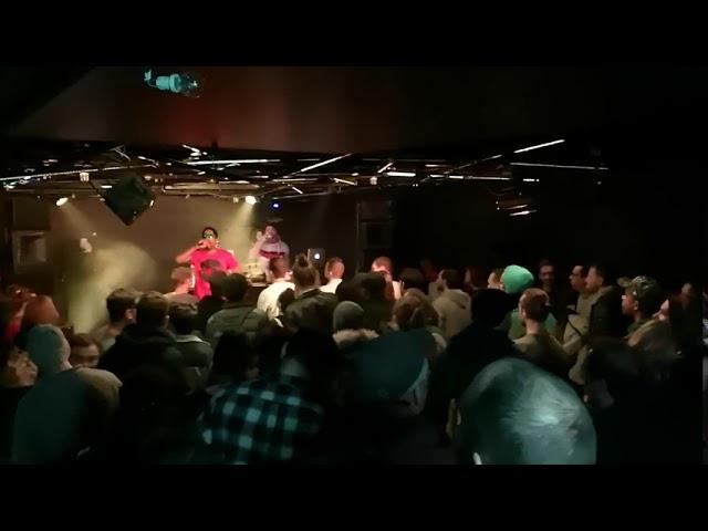 Concert de Afu-Ra et Jah Mason à la Jonquille
