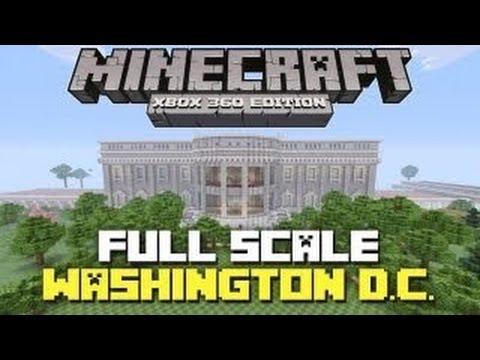 Minecraft Map Showcase 3 EPIC FullScale Washington DC YouTube