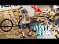 BMX PRO MEETS A SE BIG RIPPER! [INSANE] W/ @MONTANARICKY & @ONEWAYKENNY @SEBIKES