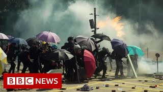 The trauma of Hong Kong's teenage protesters - BBC News