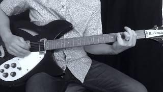 r.e.m. - feeling gravitys pull guitar cover + lesson