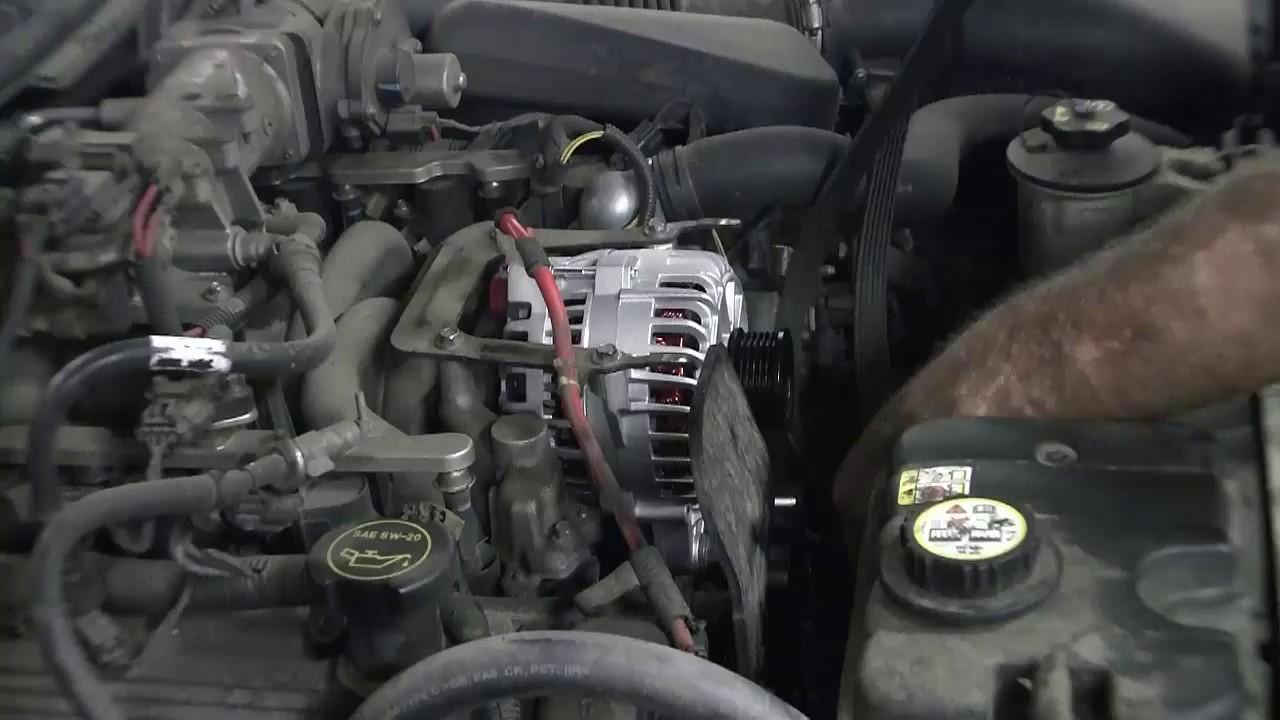 2006 Lincon Town Car Alternator