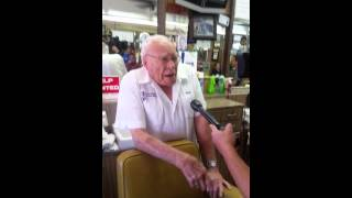 Barber Joe Davis interview with channel 3 oldest active Barber in Arizona