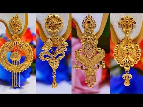 Latest Gold Earring Designs