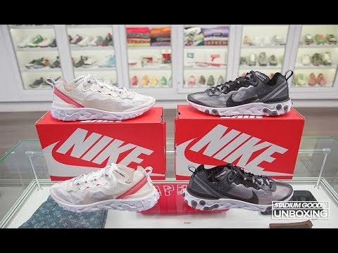 a4b11690a5d9 UNBOXING  The Shoe of the Year  Nike React Element 87 - Sail   Anthracite