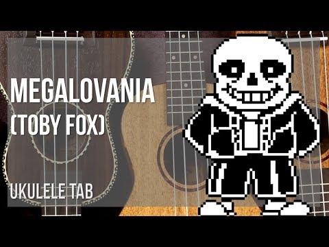 EASY Ukulele Tab: How to play Megalovania by Toby Fox