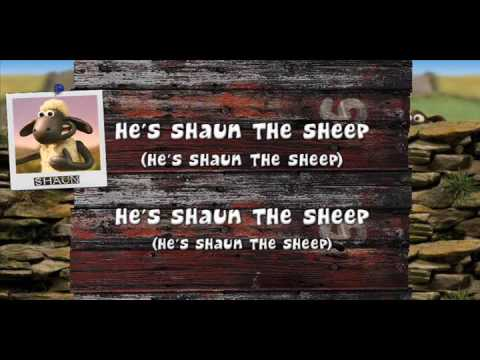 Shaun the Sheep opening song with lyrics