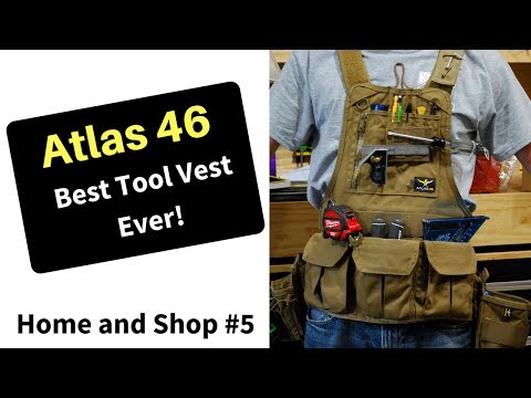 Best Tool Vest Ever! - Atlas 46 - Journeyman Chest Rig