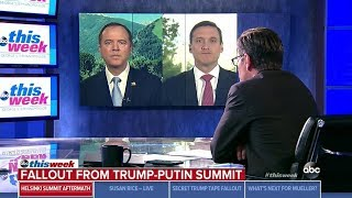 Schiff on ABC This Week – There's No Ignoring The Fact That The President Acts Like He's Compromised
