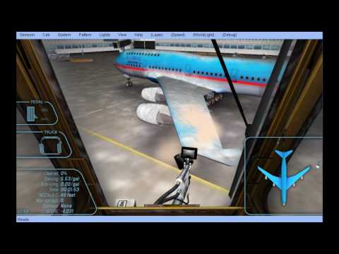 Aircraft Deicer Operator Training Simulator (Old)