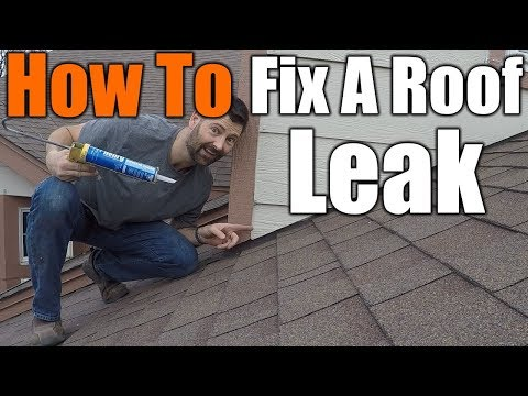 How To Fix A Roof Leak | THE HANDYMAN |