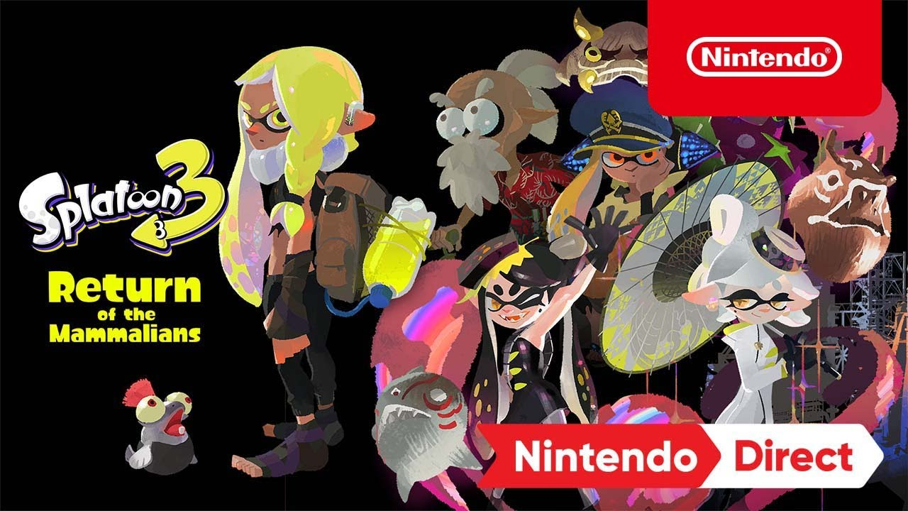 "Download Splatoon 3 – ""Return of the Mammalians"" – Nintendo Switch – Nintendo Direct 9.23.21"