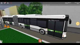 Roblox Reseau Tip: TEOR Ride on a Renault Agora L '2 Network Tip on Line T2 from Half Moon