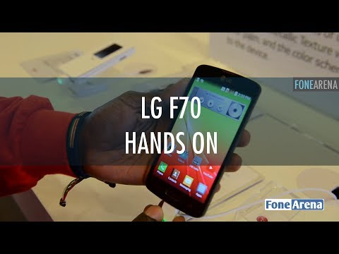 LG F70 Hands On