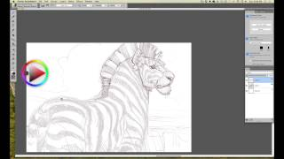 INTUOS ART: Refining a Drawing in Painter Essentials with Aaron Blaise