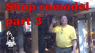 Shop remodel part 3 - vlog