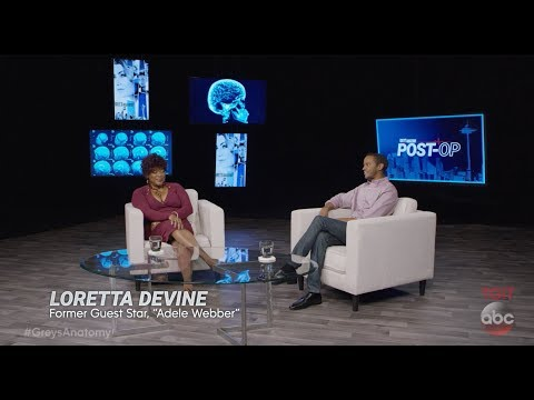 Former Guest Stars  Loretta Devine and Michael O'Neill  Grey's Anatomy: Post Op Episode 3