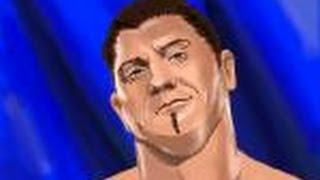 How to draw Batista of WWE