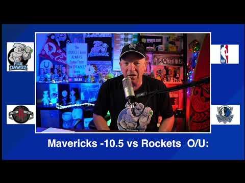 Dallas Mavericks vs Houston Rockets 1/23/21 Free NBA Pick and Prediction NBA Betting Tips