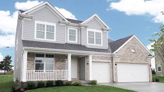 House Tour - The Waterford - A Two-story Home Plan by North Mark Homes in Bloomingdale IL