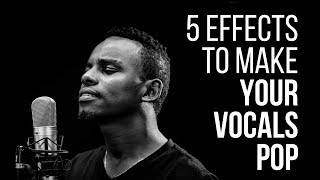 5 Effects To Make Your Vocals More Interesting- RecordingRevolution.com