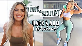 SCULPT YOUR UPPER BODY PULL WORKOUT